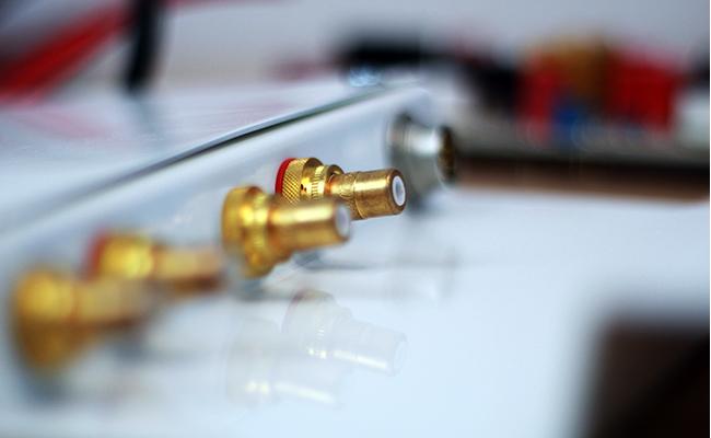 Manufaktur - Verstärker mit RCA Buchsen