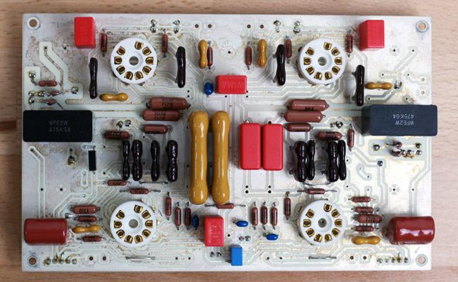 preamplifier teflon circuit